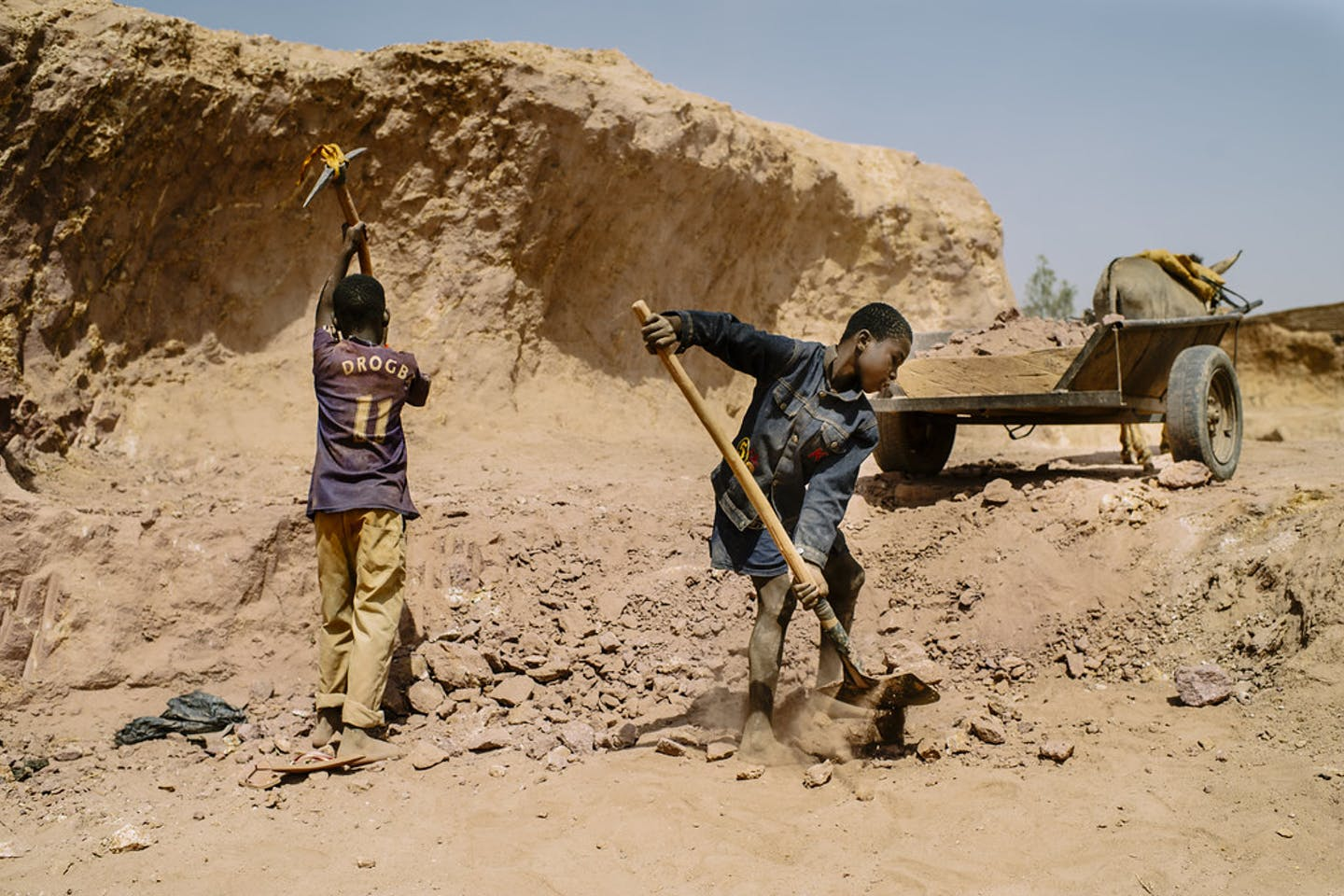 child labour africa