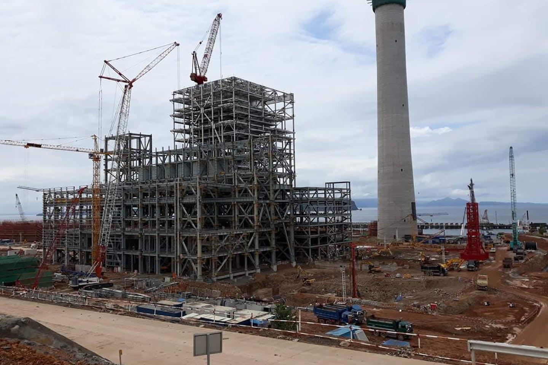 GN Power coal-fired power plant in Mariveles, Bataan