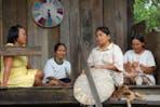 Dayak women