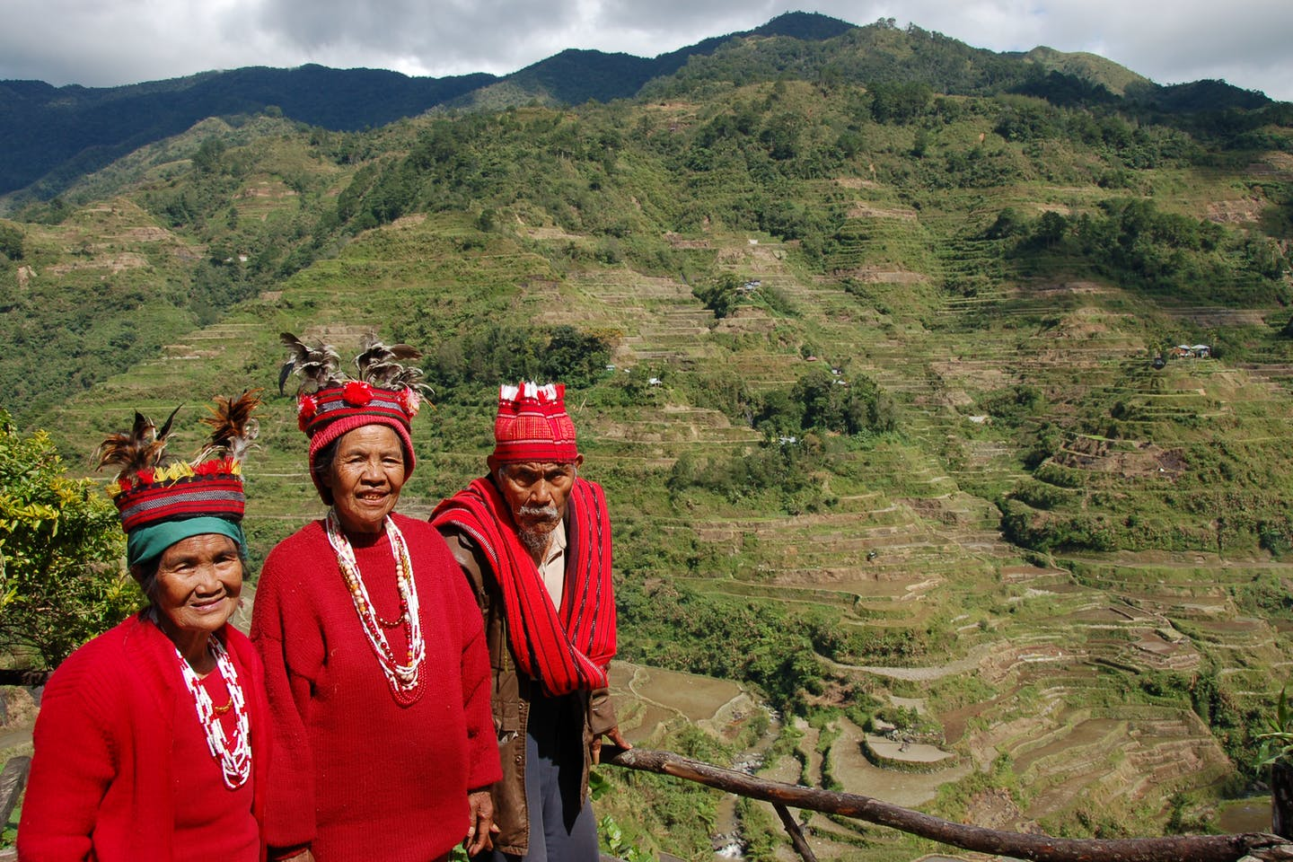 Igorot people in Banaue, Philippines