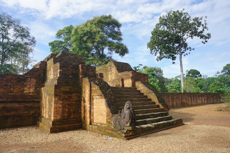 Muaro Jambi temple Sumatra Indonesia