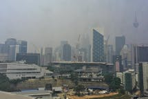 Coronavirus weakens defences against Indonesian forest fires as severe haze risk deemed 'moderate'