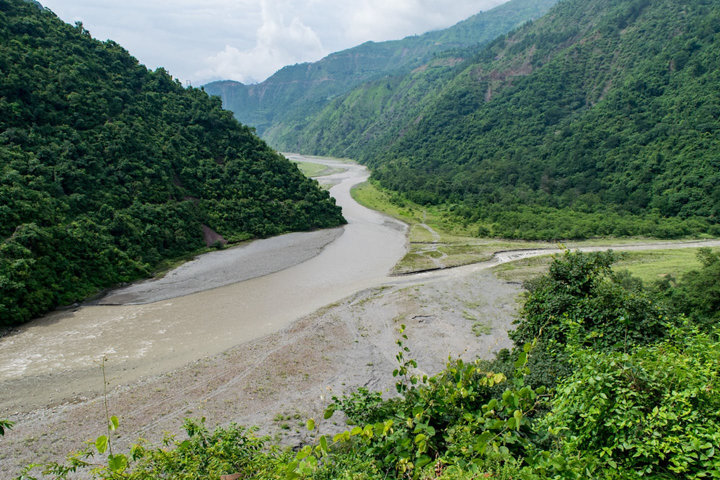 river in Himachal Pradesh, India
