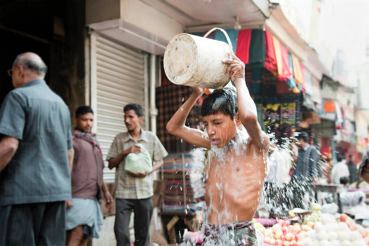 hot day india