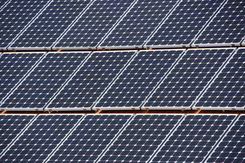 solar panels pattern