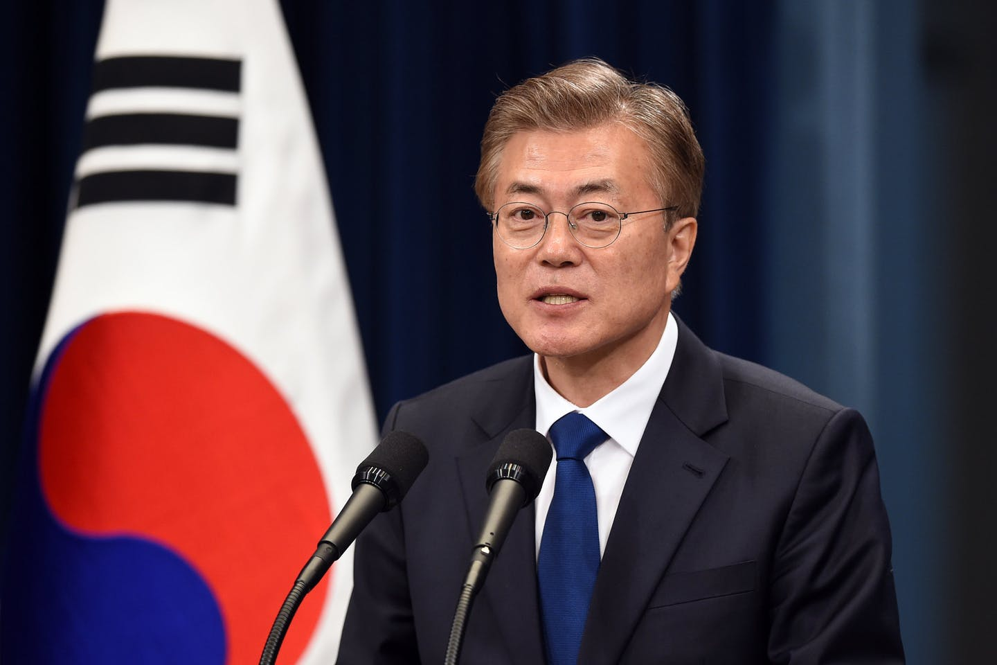 President Moon Jae-in, coal phase-out