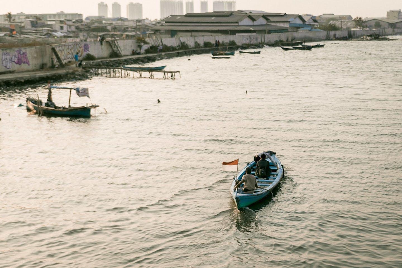 jakarta sea level rising