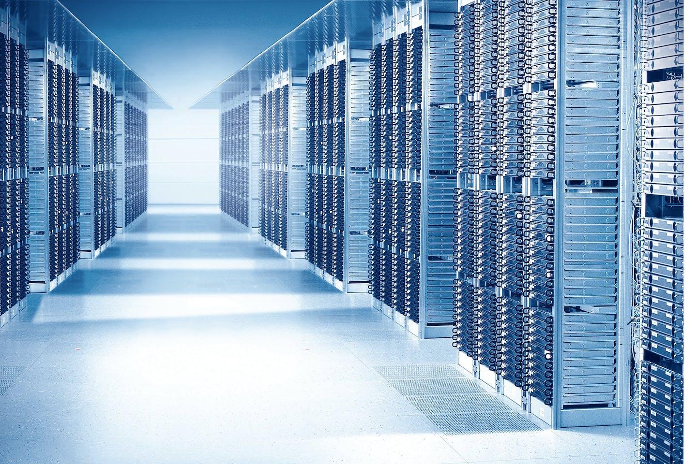 Data centre, cloud computing