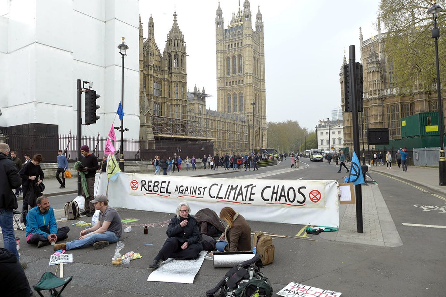 climate protesters london