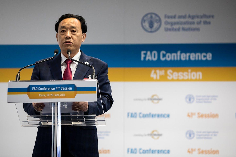 Qu Dongyu of China FAO