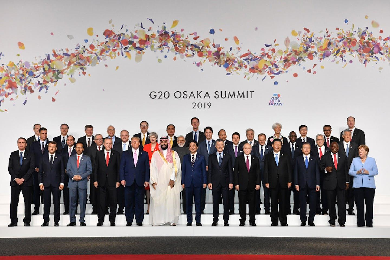 G20 Leaders in Osaka