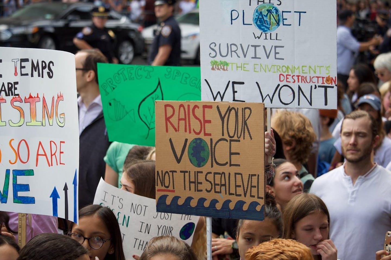 climate strikes new york