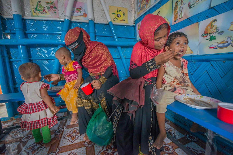 malnourished bangladesh