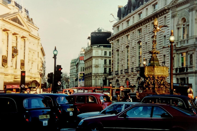 traffic jam london
