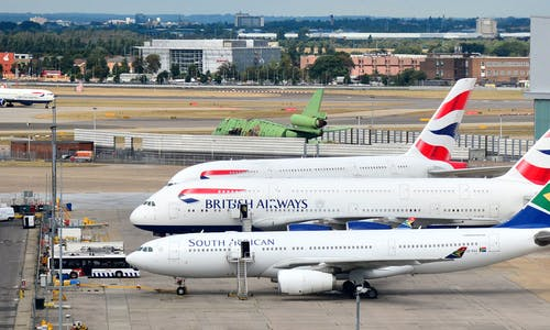 UK airports must shut to reach 2050 climate target