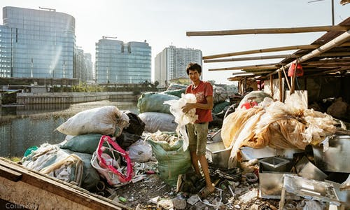In Indonesia's coastal communities, the plastic crisis is both homegrown and invasive