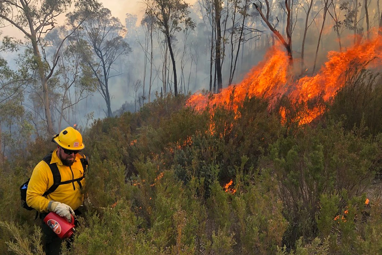 bushfire victoria australia