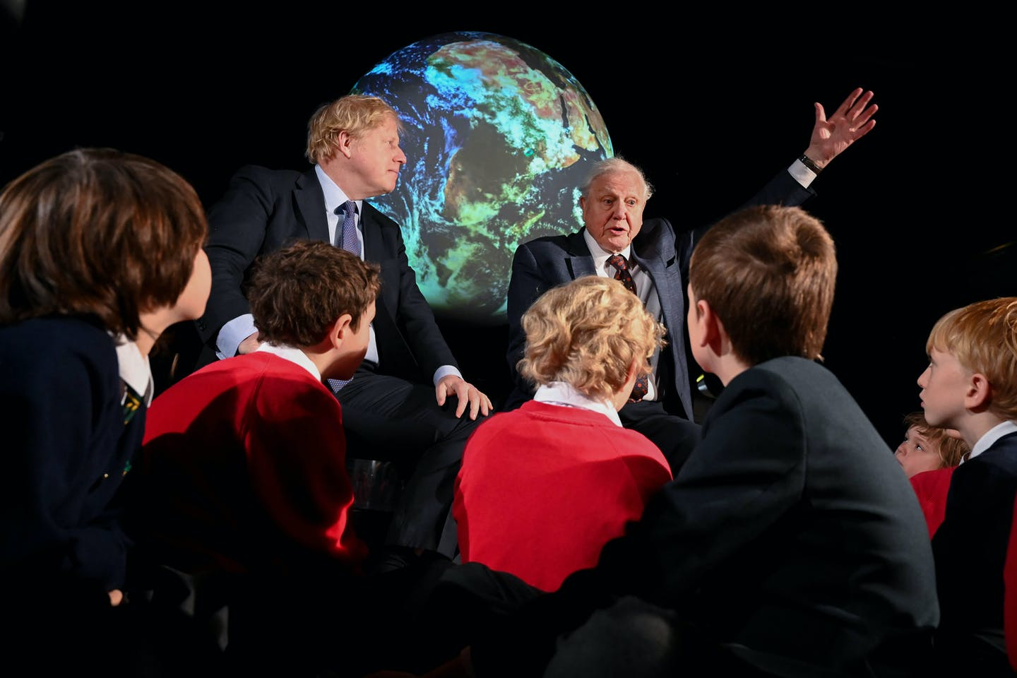 COP26 launch Boris Johnson David Attenborough