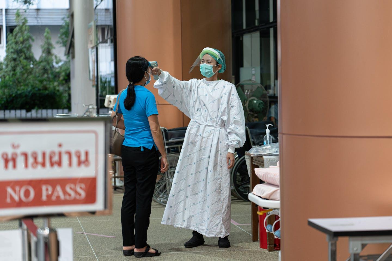 healthcare worker in Thailand
