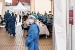 Covid testing facility in Madagascar