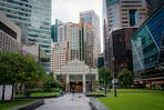 CBD area in Singapore
