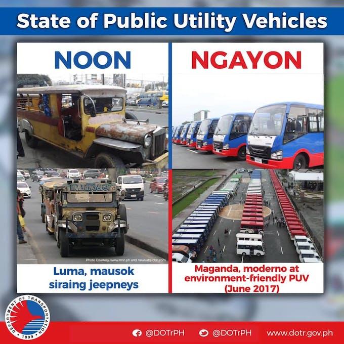 electric jeepney promotion