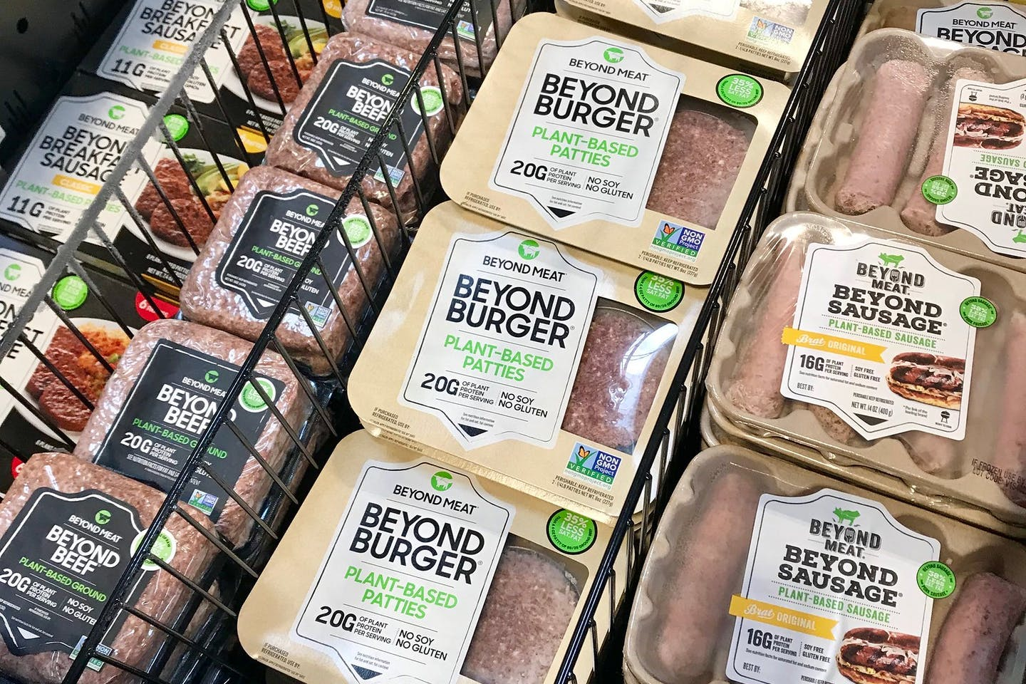 Meat alternatives for sale. Are they healthier than eating the real thing?
