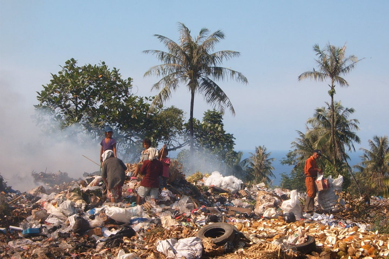 landfill indonesia