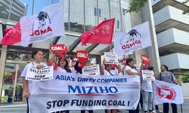 Green groups in Asia rally for Japan to quit coal