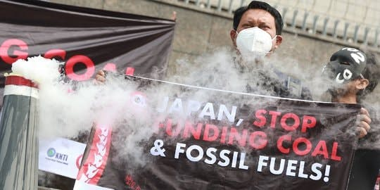 coal protests indonesia
