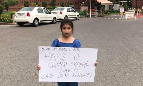 Don't call me 'Greta': Young climate activists demand to be heard