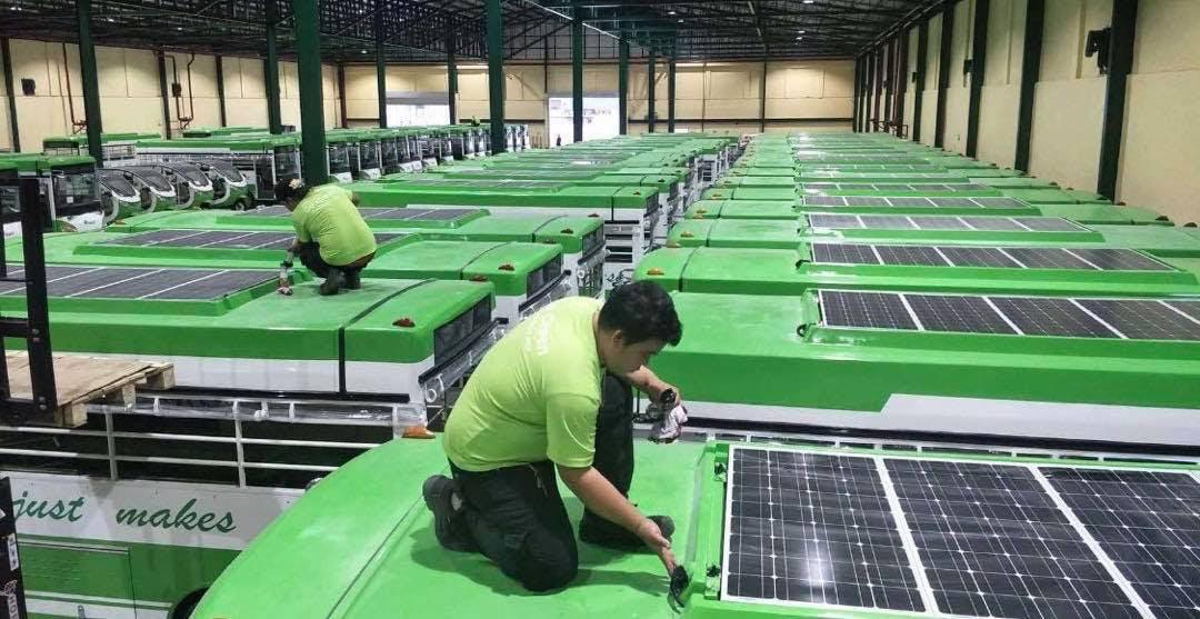 star 8 electric solar jeepneys