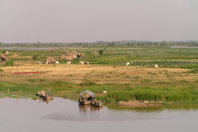 cambodian wetlands, kampong chhnang