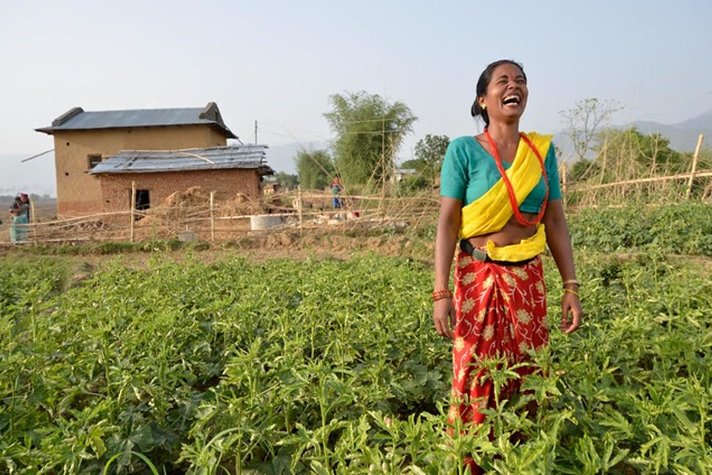 woman nepal climate resilience