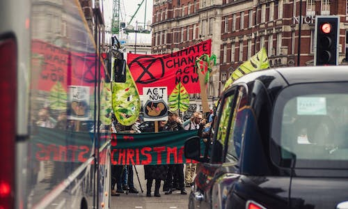 Climate activists found guilty over London train protest by 'regretful' jury