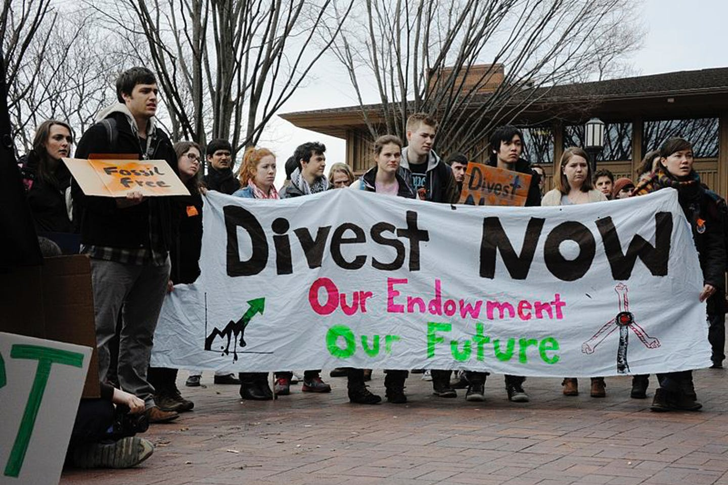 student activism divestment at tufts university