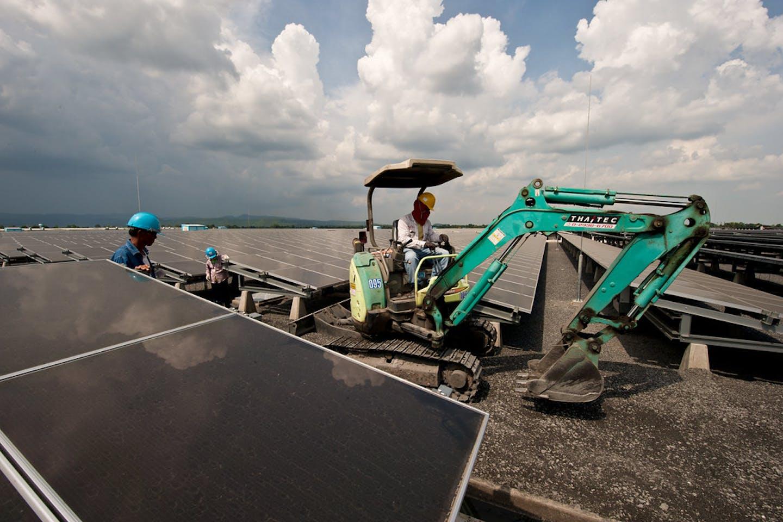 Lopburi Solar Farm in Thailand