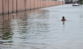 Flood risk will rise as climate heat intensifies