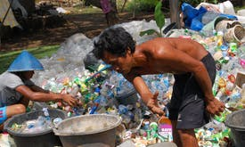 Poor plastic waste collection in Southeast Asia makes it hard to hit our recycling targets, says Coca-Cola