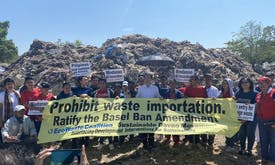 If the Philippines banned waste imports, why is it still the world's dumping ground?