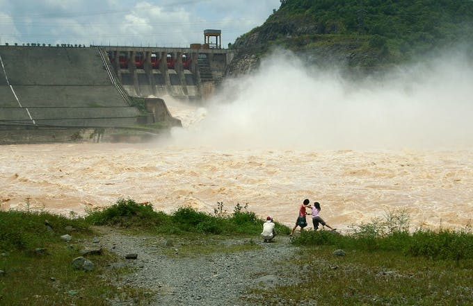 hydropower laos