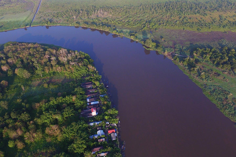 Aerial view RImba Raya