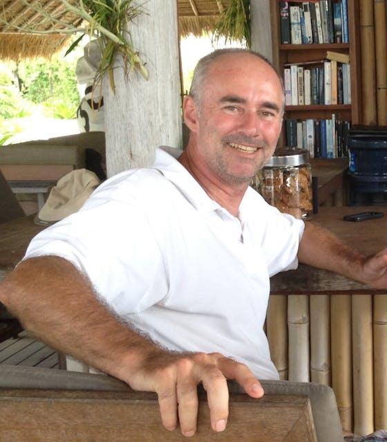 Andrew Dixon, director, Nikoi Island resort