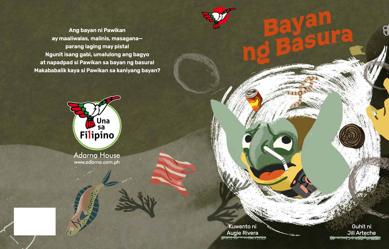 The cover of Bayan ng Basura (Basuratown)