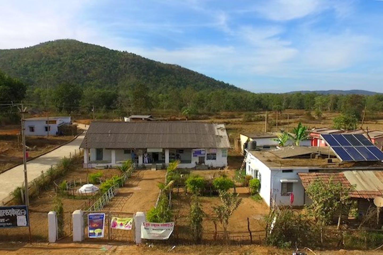 solar panel hospital in india