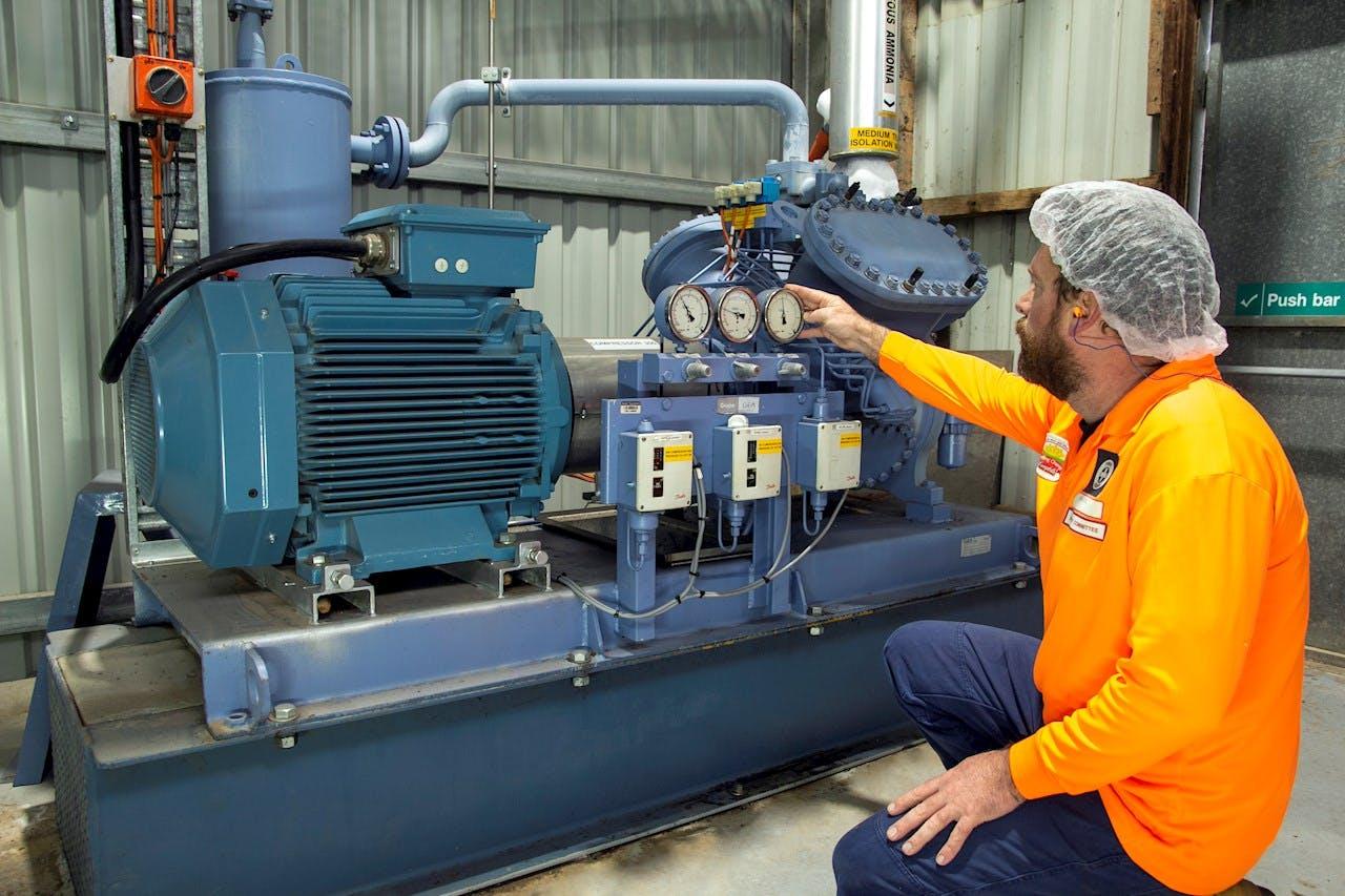 Campbell's Australia refrigeration compressor