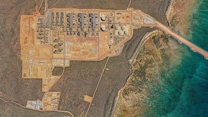 Chevron Gorgon liquefied natural gas plant