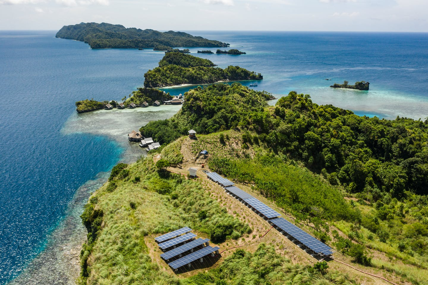 Misool eco-resort in Raja Ampat, Indonesia