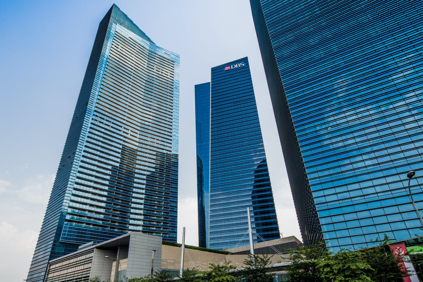 DBS Bank's headquarters in Singapore. Image: DBS