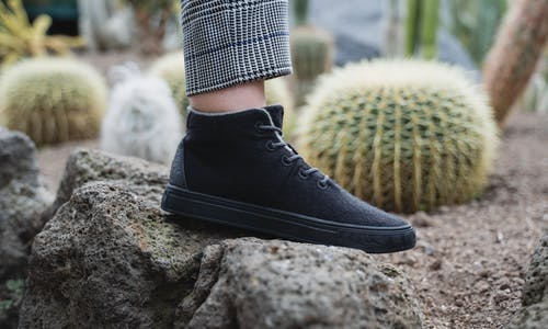 New Zealand start-up uses pineapple leaves and algae to make sustainable shoes